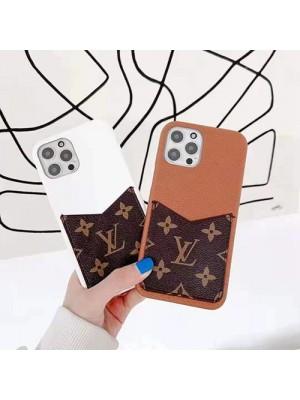 ルイヴィトン iPhone13 mini/13 pro/12S pro maxケース ブランド シック8色 ヴィトン アイフォン12/13pro maxカバー 男女通用 シンプル iphone 12 mini/12 pro/11 pro maxケース カード収納 モノグラム
